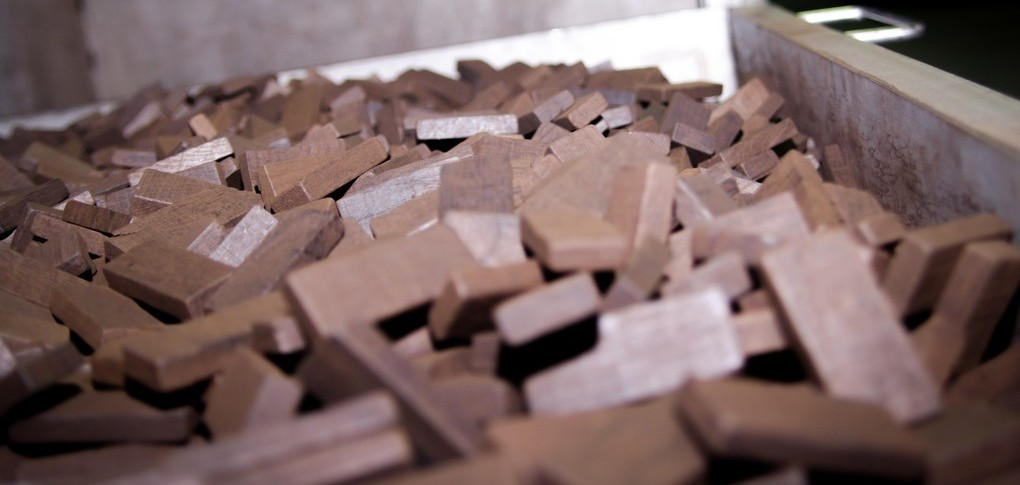 Chauffe traditionnelle au feu de bois